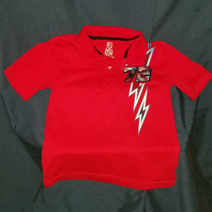 Boys red shirt